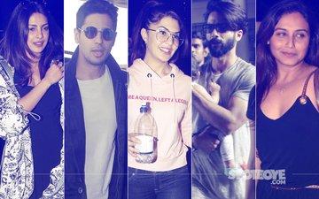 STUNNER OR BUMMER: Priyanka Chopra, Sidharth Malhotra, Jacqueline Fernandez, Shahid Kapoor Or Rani Mukerji?