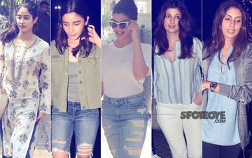 STUNNER OR BUMMER: Jhanvi Kapoor, Alia Bhatt, Jacqueline Fernandez, Twinkle Khanna Or Shweta Nanda Bachchan?