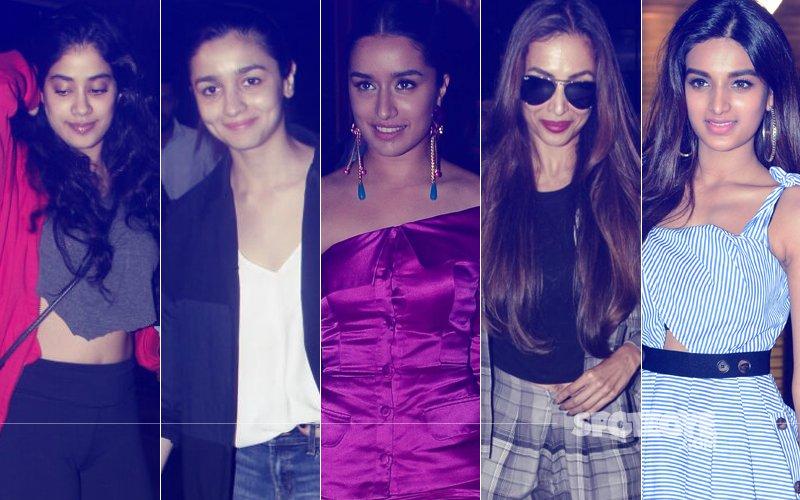 STUNNER OR BUMMER: Jhanvi Kapoor, Alia Bhatt, Shraddha Kapoor, Malaika Arora Or Nidhhi Agerwal?