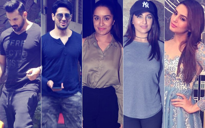 STUNNER OR BUMMER: John Abraham, Sidharth Malhotra, Shraddha Kapoor, Sonakshi Sinha, Or Huma Qureshi?
