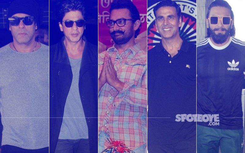 STUNNER OR BUMMER: Salman Khan, Shah Rukh Khan, Aamir Khan, Akshay Kumar Or Ranveer Singh?