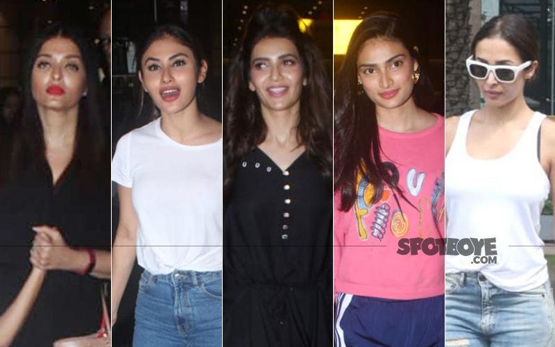 STUNNER OR BUMMER: Aishwarya Rai Bachchan, Mouni Roy, Karishma Tanna, Athiya Shetty Or Malaika Arora?