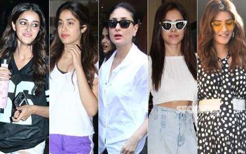 STUNNER OR BUMMER: Ananya Panday, Janhvi Kapoor, Kareena Kapoor Khan, Nushrat Bharucha or Kriti Sanon?