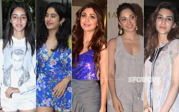 STUNNER OR BUMMER: Ananya Panday, Janhvi Kapoor, Shilpa Shetty, Kiara Advani Or Kriti Sanon?