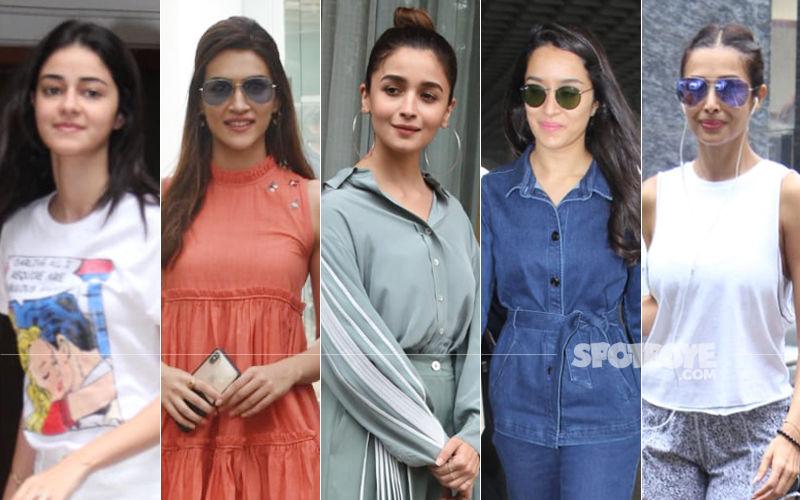 STUNNER OR BUMMER: Ananya Panday, Kriti Sanon, Alia Bhatt, Shraddha Kapoor Or Malaika Arora?