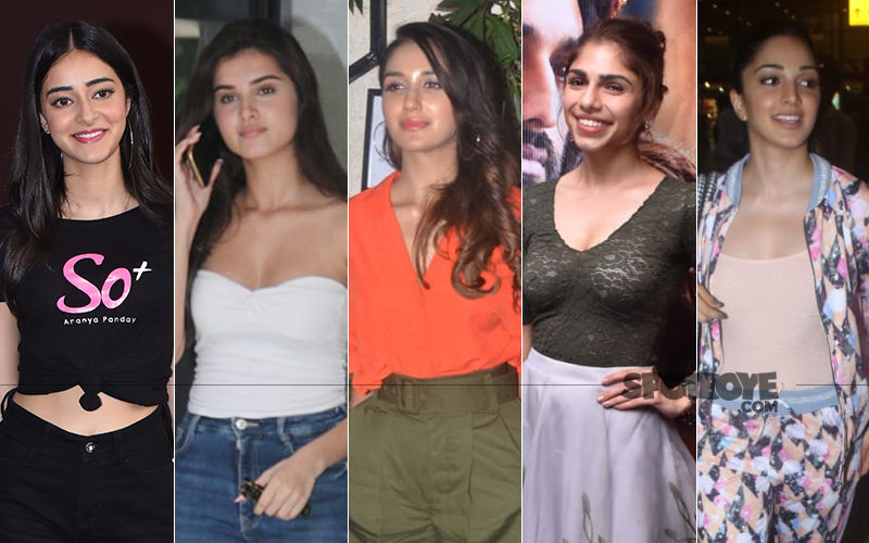 STUNNER OR BUMMER: Ananya Panday, Tara Sutaria, Nikita Dutta, Sharmin Segal Or Kiara Advani?