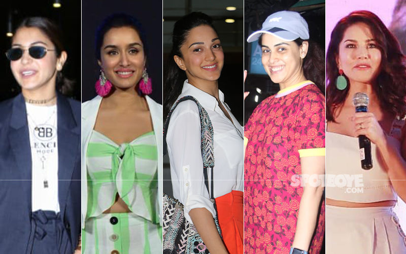 STUNNER OR BUMMER: Anushka Sharma, Shraddha Kapoor, Kiara Advani, Genelia Deshmukh Or Sunny Leone?
