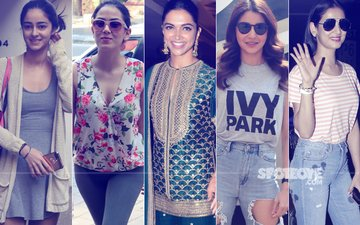 STUNNER OR BUMMER: Ananya Pandey, Mira Rajput, Deepika Padukone, Anushka Sharma Or Sonal Chauhan?