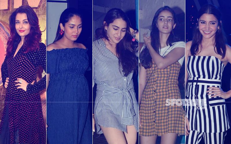 STUNNER OR BUMMER: Aishwarya Rai, Mira Rajput, Sara Ali Khan, Ananya Panday Or Anushka Sharma?