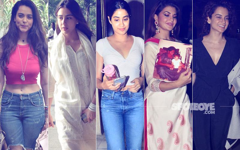 STUNNER OR BUMMER: Soundarya Sharma, Sara Ali Khan, Janhvi Kapoor, Jacqueline Fernandez Or Kangana Ranaut?