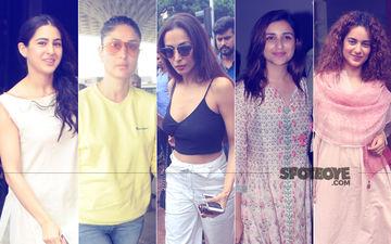 STUNNER OR BUMMER: Sara Ali Khan, Kareena Kapoor, Malaika Arora, Parineeti Chopra Or Kangana Ranaut?