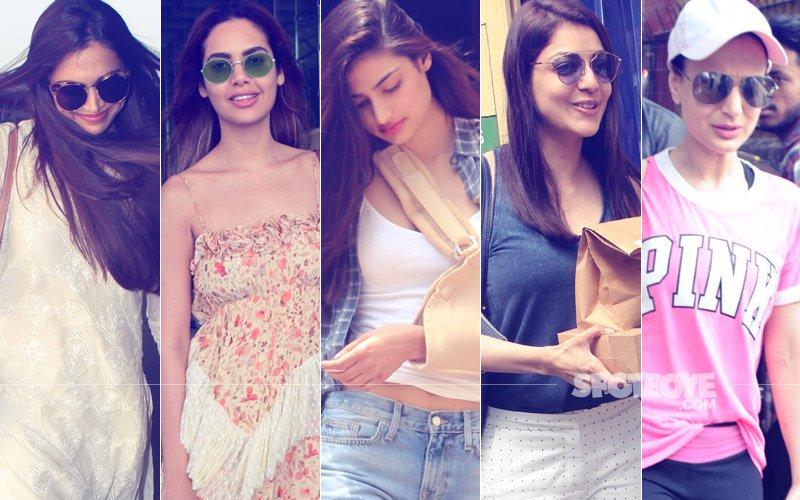 STUNNER OR BUMMER: Deepika Padukone, Esha Gupta, Athiya Shetty, Kajal Agarwal Or Ameesha Patel?