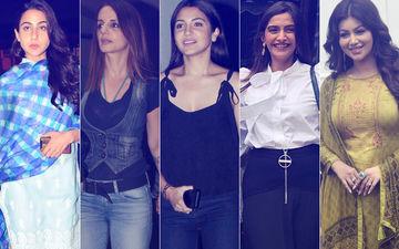 STUNNER OR BUMMER: Sara Ali Khan, Sussanne Khan, Anushka Sharma, Sonam Kapoor Or Ayesha Takia?