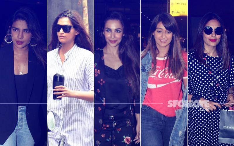STUNNER OR BUMMER: Priyanka Chopra, Sonam Kapoor, Malaika Arora, Ileana D'Cruz Or Bipasha Basu?