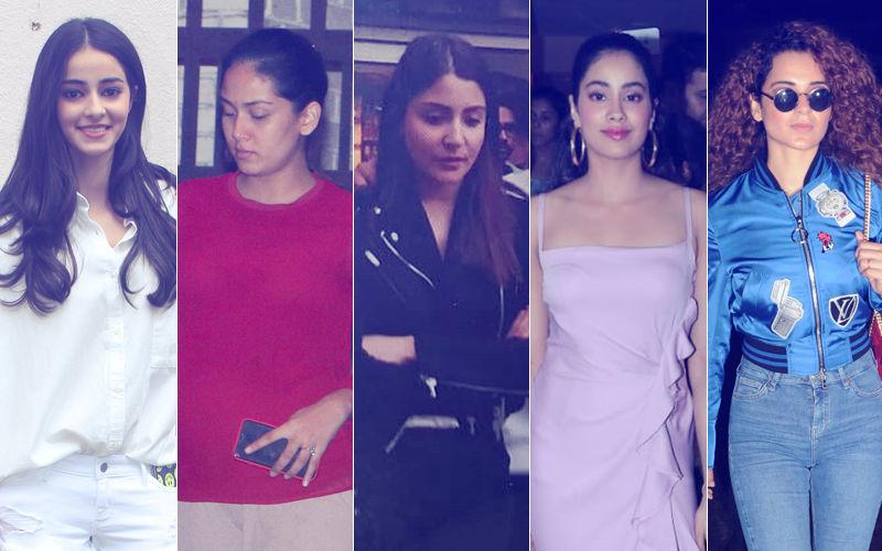 STUNNER OR BUMMER: Ananya Panday, Mira Rajput, Anushka Sharma, Janhvi Kapoor Or Kangana Ranaut?