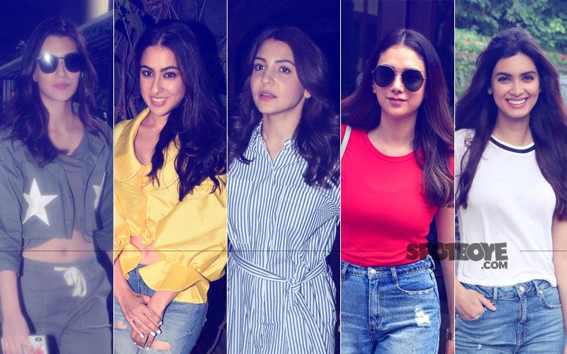 STUNNER OR BUMMER: Kriti Sanon, Sara Ali Khan, Anushka Sharma, Aditi Rao Or Diana Penty?