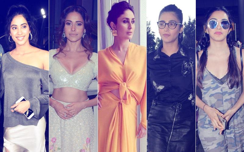 STUNNER OR BUMMER: Janhvi Kapoor, Nushrat Bharucha, Kareena Kapoor, Shruti Haasan Or Kiara Advani?
