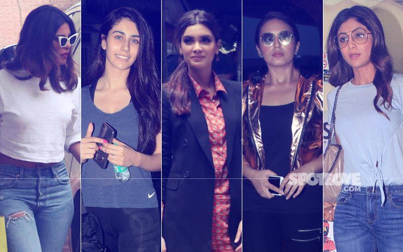 STUNNER OR BUMMER: Priyanka Chopra, Warina Hussain, Diana Penty, Huma Qureshi Or Shilpa Shetty?
