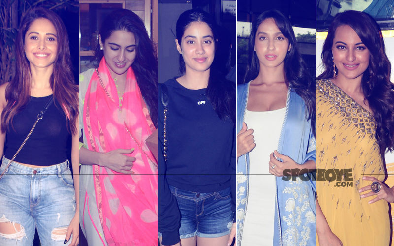 STUNNER OR BUMMER: Nushrat Bharucha, Sara Ali Khan, Janhvi Kapoor, Nora Fatehi Or Sonakshi Sinha?