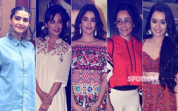 STUNNER OR BUMMER: Sonam Kapoor, Chitrangda Singh, Janhvi Kapoor, Maanayata Dutt Or Shraddha Kapoor?