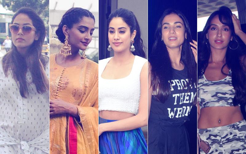 STUNNER OR BUMMER: Mira Rajput, Sonam Kapoor, Janhvi Kapoor, Sonal Chauhan Or Nora Fatehi?