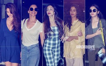 STUNNER OR BUMMER: Disha Patani, Deepika Padukone, Malaika Arora, Janhvi Kapoor Or Alia Bhatt?