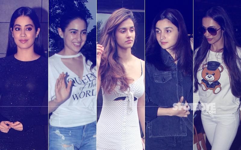 STUNNER OR BUMMER: Janhvi Kapoor, Sara Ali Khan, Disha Patani, Alia Bhatt Or Malaika Arora?
