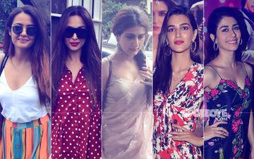 STUNNER OR BUMMER: Surveen Chawla, Malaika Arora, Fatima Sana Shaikh, Kriti Sanon Or Warina Hussain?
