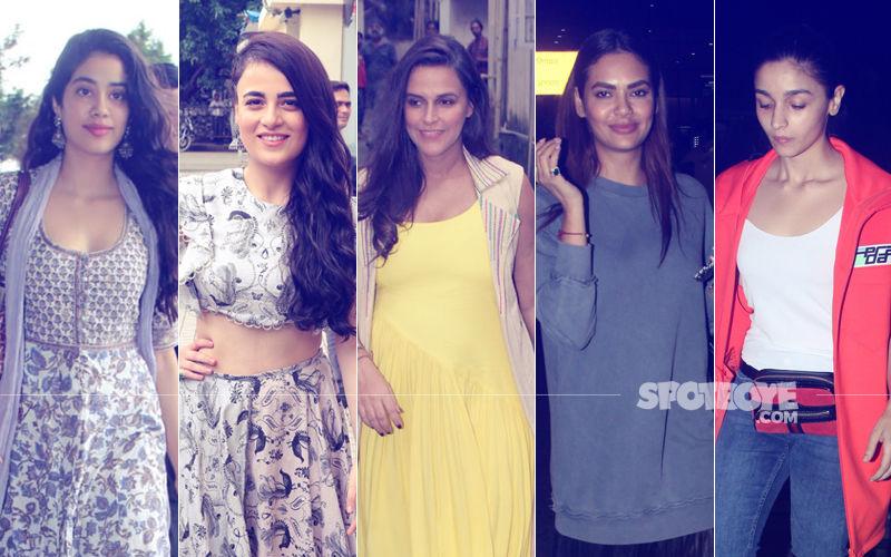 STUNNER OR BUMMER: Janhvi Kapoor, Radhika Madan, Neha Dhupia, Esha Gupta Or Alia Bhatt?
