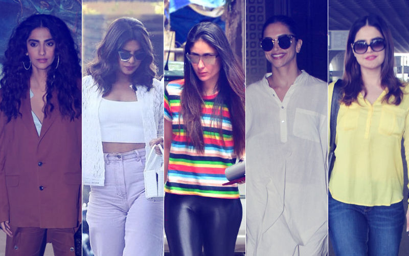 STUNNER OR BUMMER: Sonam Kapoor, Priyanka Chopra, Kareena Kapoor, Deepika Padukone Or Zareen Khan?