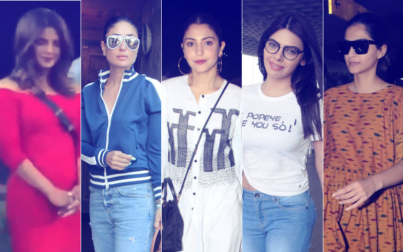 STUNNER OR BUMMER: Priyanka Chopra, Kareena Kapoor, Anushka Sharma, Sherlyn Chopra Or Sonam Kapoor?