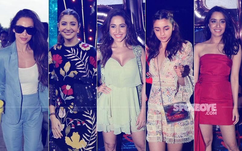 STUNNER OR BUMMER: Malaika Arora, Anushka Sharma, Nushrat Bharucha, Alia Bhatt Or Shraddha Kapoor?