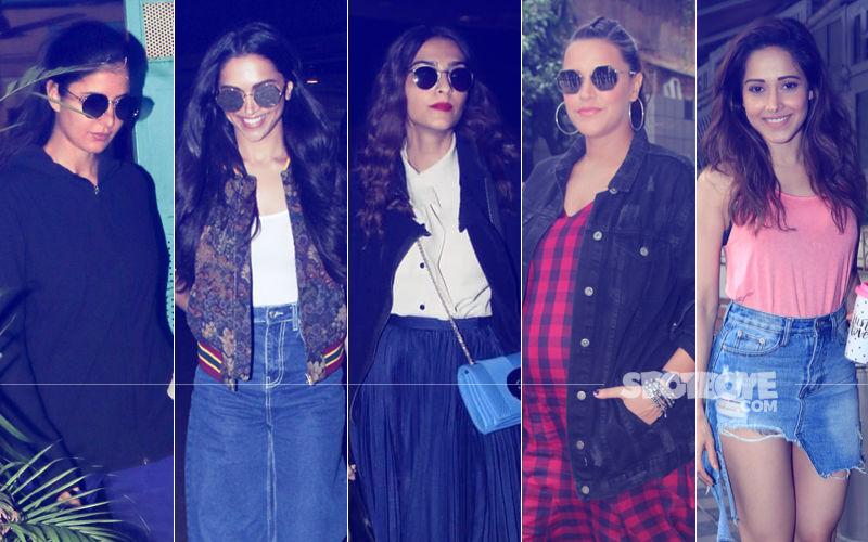 STUNNER OR BUMMER: Katrina Kaif, Deepika Padukone, Sonam Kapoor, Neha Dhupia Or Nushrat Bharucha?