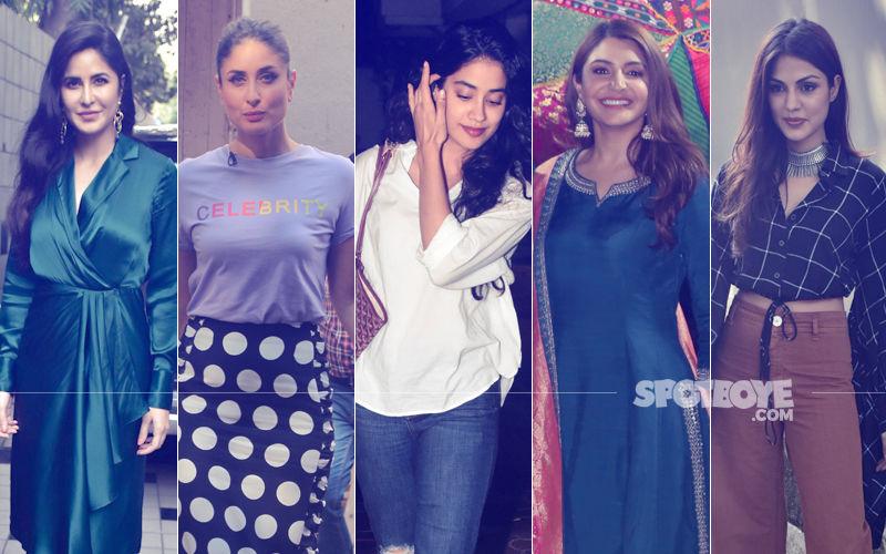 STUNNER OR BUMMER: Katrina Kaif, Kareena Kapoor Khan, Janhvi Kapoor, Anushka Sharma Or Rhea Chakraborty?