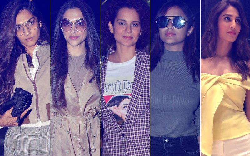 STUNNER OR BUMMER: Sonam Kapoor, Deepika Padukone, Kangana Ranaut, Parineeti Chopra Or Vaani Kapoor?