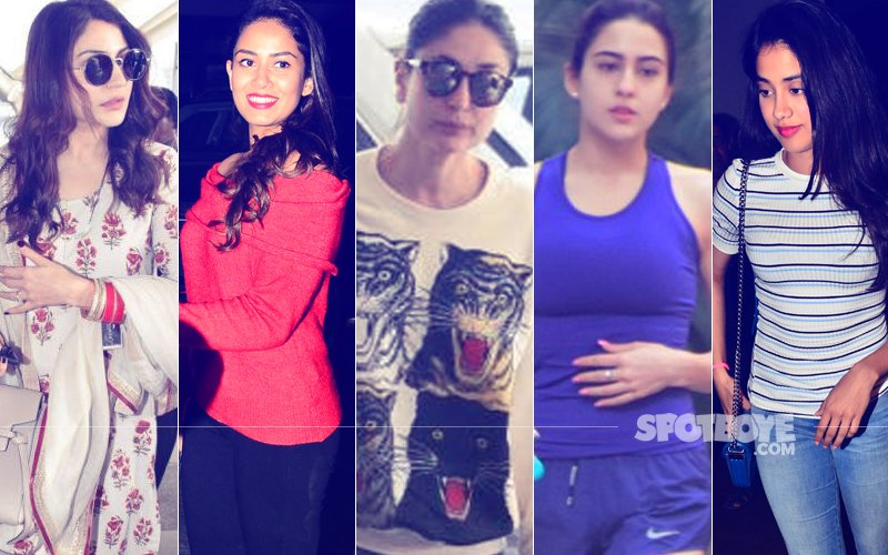 STUNNER OR BUMMER: Anushka Sharma, Mira Rajput, Kareena Kapoor, Sara Ali Khan Or Janhvi Kapoor?