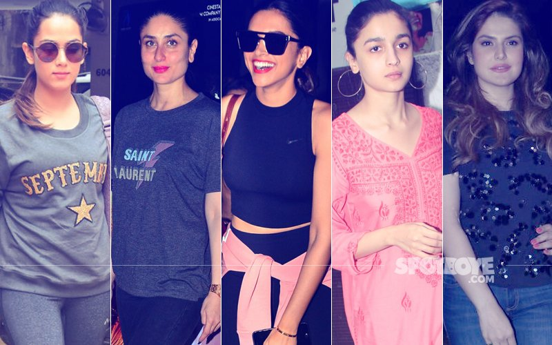 STUNNER OR BUMMER: Mira Rajput, Kareena Kapoor, Deepika Padukone, Alia Bhatt Or Zareen Khan?