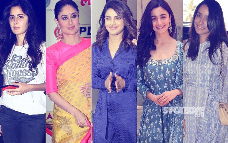 STUNNER OR BUMMER: Katrina Kaif, Kareena Kapoor, Priyanka Chopra, Alia Bhatt Or Shraddha Kapoor?
