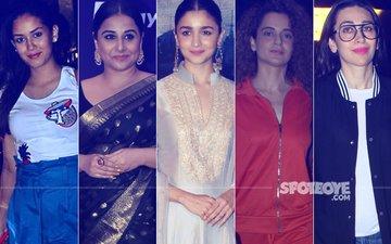 STUNNER OR BUMMER: Mira Rajput, Vidya Balan, Alia Bhatt, Kangana Ranaut Or Karisma Kapoor?