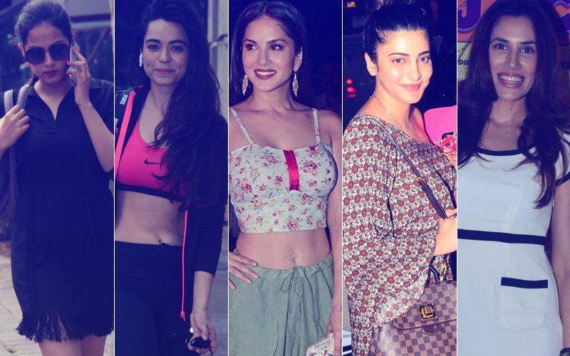 STUNNER OR BUMMER: Mira Rajput, Soundarya Sharma, Sunny Leone, Shruti Haasan Or Sonnalli Seygall?