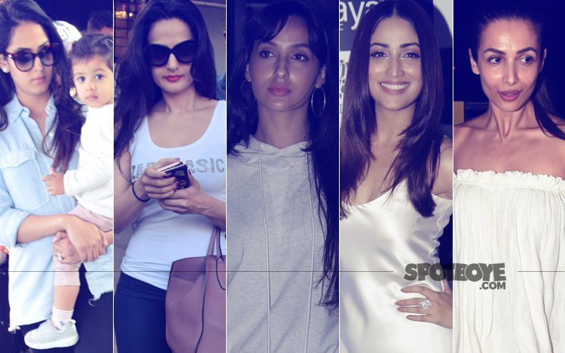 STUNNER OR BUMMER: Mira Rajput, Ameesha Patel, Nora Fatehi, Yami Gautam Or Malaika Arora?