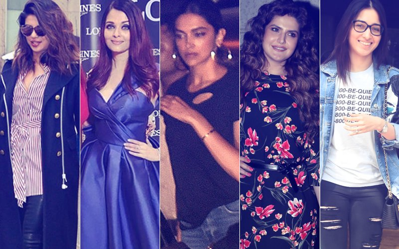 STUNNER OR BUMMER:  Priyanka Chopra, Aishwarya Rai Bachchan, Deepika Padukone, Zareen Khan Or Tamannaah Bhatia?