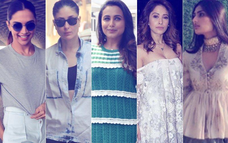 STUNNER OR BUMMER: Deepika Padukone, Kareena Kapoor, Rani Mukerji, Nushrat Bharucha Or Athiya Shetty?