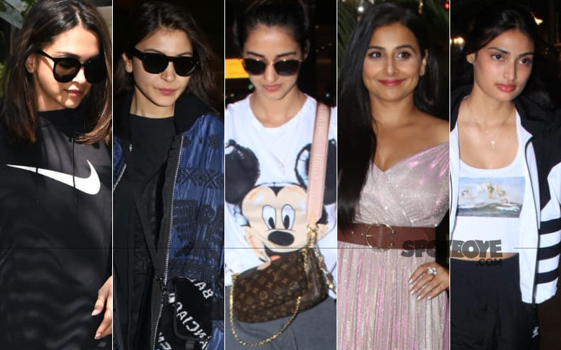 STUNNER OR BUMMER: Deepika Padukone, Anushka Sharma, Disha Patani, Vidya Balan Or Athiya Shetty?