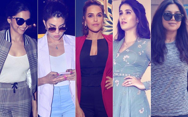STUNNER OR BUMMER: Deepika Padukone, Jacqueline Fernandez, Neha Dhupia, Sagarika Ghatge Or Bhumi Pednekar?