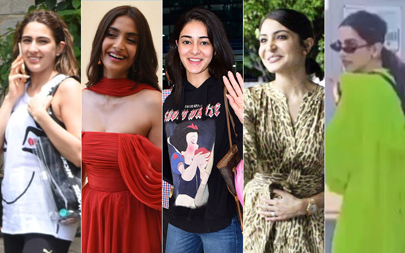 STUNNER OR BUMMER: Deepika Padukone, Sonam Kapoor, Anushka Sharma, Sara Ali Khan Or Ananya Panday?