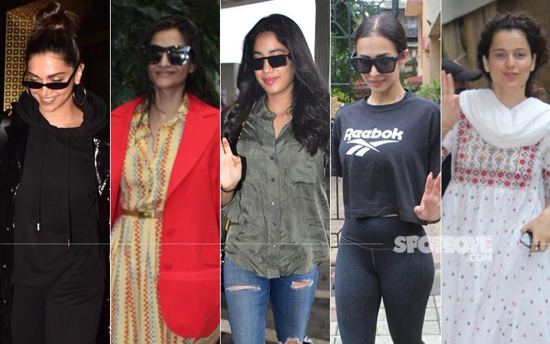 STUNNER OR BUMMER: Deepika Padukone, Sonam Kapoor, Janhvi Kapoor, Malaika Arora Or Kangana Ranaut?
