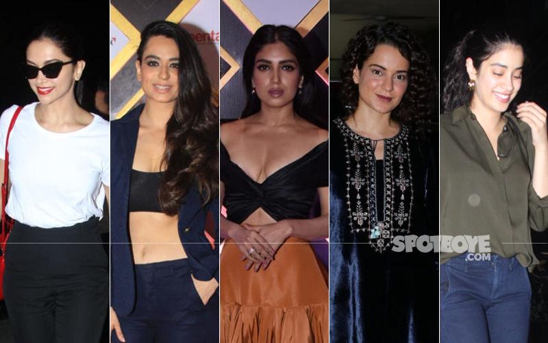 STUNNER OR BUMMER: Deepika Padukone, Soundarya Sharma, Bhumi Pednekar, Kangana Ranaut Or Janhvi Kapoor?
