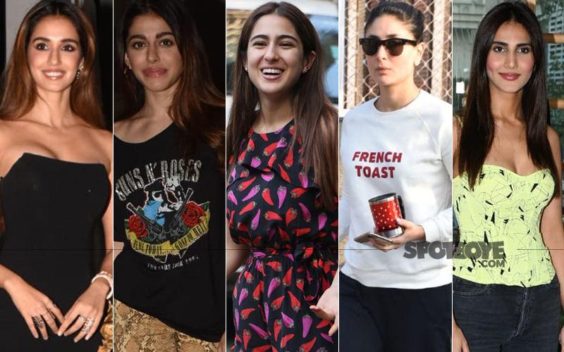 STUNNER OR BUMMER: Disha Patani, Alaya F, Sara Ali Khan, Kareena Kapoor Khan Or Vaani Kapoor?