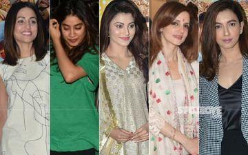 STUNNER OR BUMMER: Hina Khan, Janhvi Kapoor, Urvashi Rautela, Sussanne Khan Or Gauahar Khan?